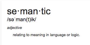SemanticDefinition