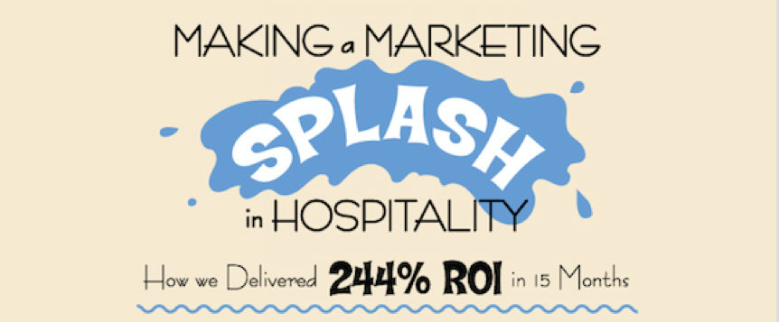 Making a Marketing Splash in Hospitality: 244% ROI in 15 Months [Infographic]